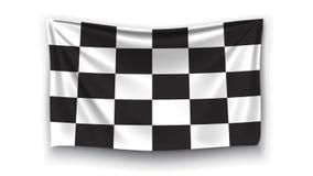 Imagem da bandeira da raça ilustração do vetor