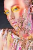 Imagem da beleza da arte Imagem de Stock Royalty Free