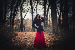 A imagem da bruxa bruxa celebration Bruxas da composição fotografia de stock
