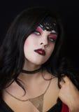 A imagem da bruxa bruxa celebration Bruxas da composição Imagens de Stock