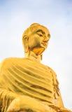 A imagem da Buda dourada Fotografia de Stock Royalty Free