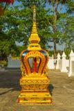 Imagem da Buda em Wat Huay Mongkola Imagem de Stock