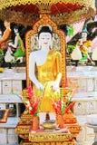 Imagem da Buda em Wat Phra That Doi Suthep, Chiang Mai, Tailândia Imagens de Stock Royalty Free