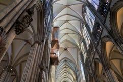 Imagem da catedral HDR de Colónia fotos de stock royalty free