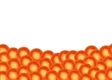 A imagem da cenoura para a decoração fotos de stock