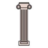 imagem da estrutura da coluna da pilastra ilustração royalty free