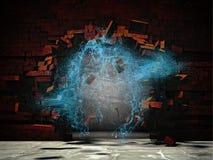 Imagem da explosão da água Fotografia de Stock Royalty Free