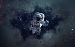 Imagem da ficção de ciência espacial Elementos desta imagem fornecidos pela NASA foto de stock royalty free