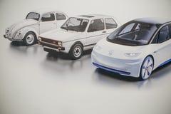 Imagem da foto do carro do novo conceito de Volkswagen fotografia de stock royalty free