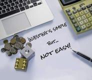 Imagem da gestão de investimento Fotos de Stock