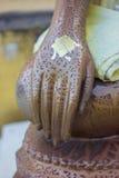 Imagem da mão da Buda Imagem de Stock