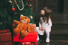 Imagem da menina bonito pequena Fotos de Stock