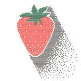 Imagem da morango, ilustração Fotografia de Stock Royalty Free