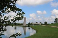 Imagem da natureza para Sugar Land Memorial Park e o corredor do Rio Brazos fotos de stock royalty free