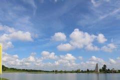 Imagem da natureza para Sugar Land Memorial Park e o corredor do Rio Brazos fotografia de stock royalty free