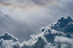 Imagem da nuvem escura Foto de Stock Royalty Free