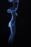 Imagem da senhora bonita feita do fumo imagens de stock