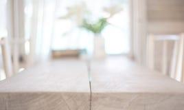 Imagem da tabela de madeira imagens de stock