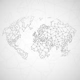 Imagem da tecnologia do globo Foto de Stock Royalty Free