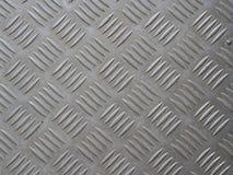 A imagem da textura de aço cinzenta Fotos de Stock