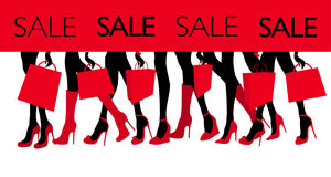 Imagem da venda da compra Imagens de Stock