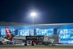 Imagem de Air Asia A320-Stock Imagens de Stock Royalty Free