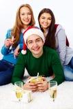 Comemorando o feriado Imagens de Stock