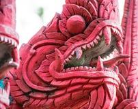 A imagem de animais vermelhos no budismo relacionou-se vem um estreptococo mostrando longo Fotografia de Stock Royalty Free