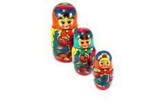 Imagem de bonecas do assentamento Imagem de Stock Royalty Free