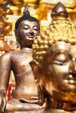 Imagem de Buddha do ouro Foto de Stock Royalty Free