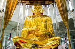 Imagem de buddha do ouro Imagens de Stock