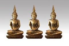 Imagem de buddha sob a sombra Imagem de Stock