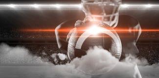 Imagem de Digitas do estádio de futebol aglomerado ilustração royalty free