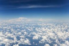 Imagem de fundo da nuvem do céu fotografia de stock