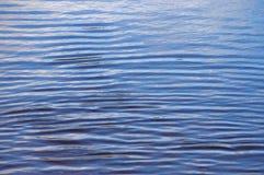 Imagem de fundo de ondinhas da água Fotografia de Stock Royalty Free