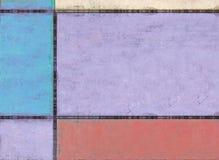 Imagem de fundo geométrica Fotos de Stock