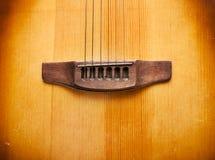 Imagem de fundo musical da guitarra espanhola Imagens de Stock Royalty Free