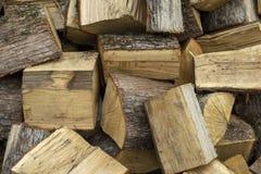 Imagem de fundo simples da foto de logs secos do vidoeiro fotografia de stock