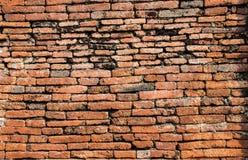 Imagem de fundo velha da textura da parede de tijolo O vermelho do Grunge obstr?i o fundo foto de stock royalty free