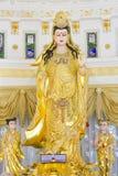 Imagem de Kuan Yin da arte do chinês de buddha Fotografia de Stock Royalty Free