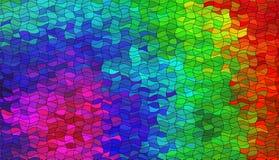 Imagem de mosaico abstrata Imagens de Stock Royalty Free