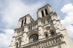 Imagem de Notre Dame, monumento em Paris Imagem de Stock Royalty Free