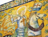 Imagem de St James Apostle no monastério da província de Tentudia de Badajoz, Espanha foto de stock royalty free