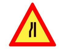 Imagem de um ícone do sinal de tráfego ilustração royalty free