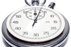 A imagem de um cronômetro que conta os segundos Fotografia de Stock Royalty Free