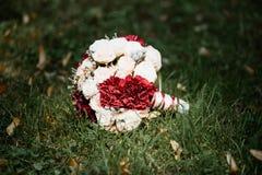 Imagem de um ramalhete do casamento Fotografia de Stock Royalty Free