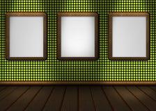 Imagem de um verde vermelho da parede agradável para seu índice Fotos de Stock Royalty Free
