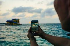 Imagem de uma imagem na água Fotografia de Stock