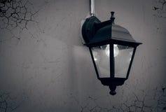 Imagem de uma lâmpada de rua Fotos de Stock
