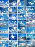 Imagem de variações do cloudscape Imagens de Stock Royalty Free